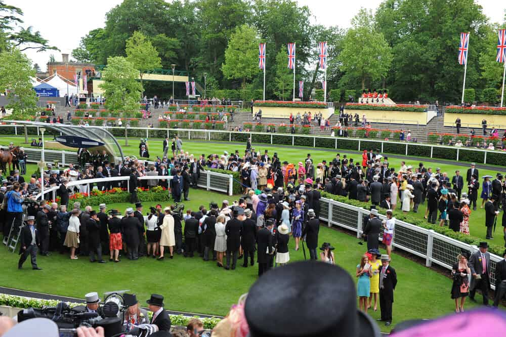 General view during the final day of the annual Royal Ascot horse racing event